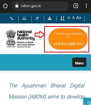 ayushman bharat digital mission online apply