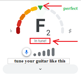 How To Use Google Guitar Tuner?